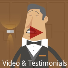 video and testimonials